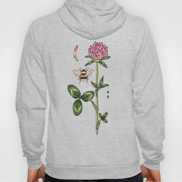 aromatic red clover Hoody