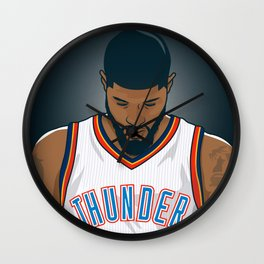 Paul George Wall Clock