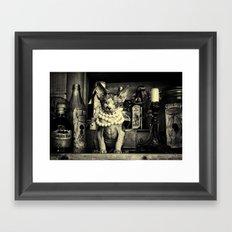 Hell O Pretty Framed Art Print