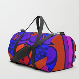 Art Deco Valentine Duffle Bag