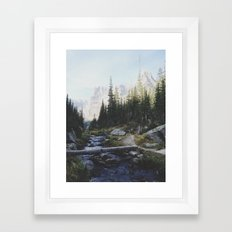 Rocky Mountain Creek Framed Art Print