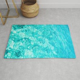 Crystal Clear Sea Water Rug