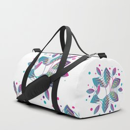 Colorful shofar with patterns Duffle Bag