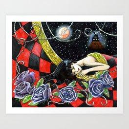 La belle aux bois... Art Print