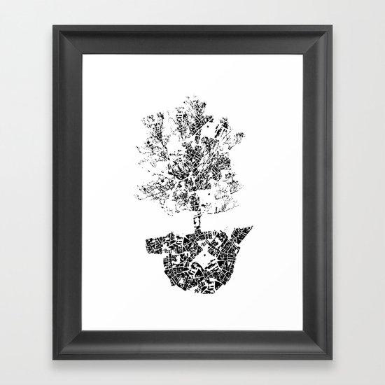 Planted.. Framed Art Print