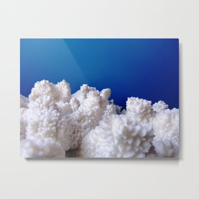 The Fluffy Mountains! Metal Print