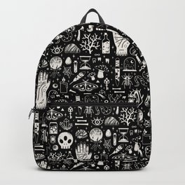 Curiosities: Bone Black Backpack