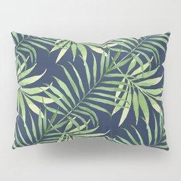Tropical Branches on Dark Pattern 05 Pillow Sham