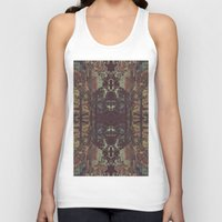 bohemian Tank Tops featuring Bohemian Square by Jane Lacey Smith