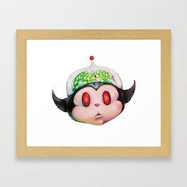 Brainiac Framed Art Print