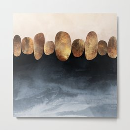 Natural Abstraction 02 Metal Print