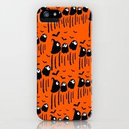Boo Halloween iPhone Case