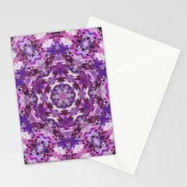 Geometric Mandala Stationery Cards