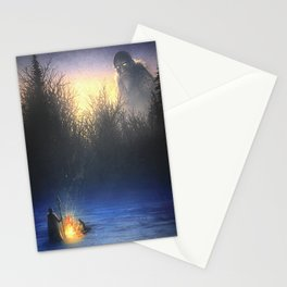 Snow Giant Stationery Cards
