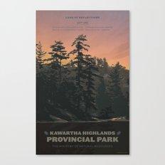 Kawartha Highlands Provincial Park Canvas Print