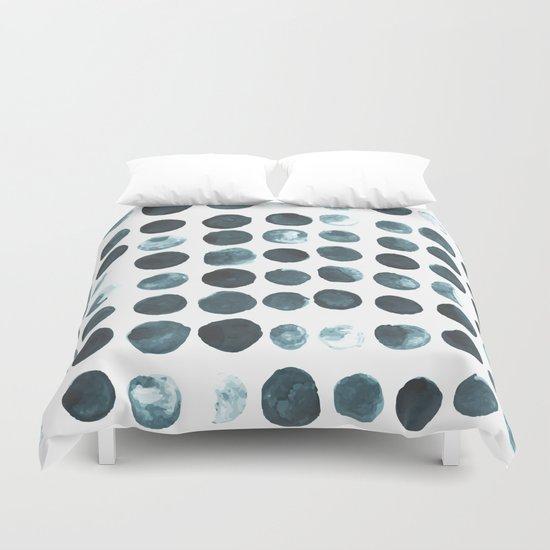Faded dots Duvet Cover