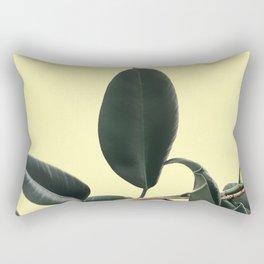 ficus elastica the nature series Rectangular Pillow