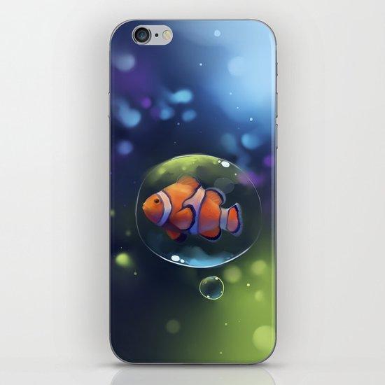 clown fish iPhone & iPod Skin