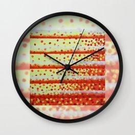 Horizontal Bars Wall Clock