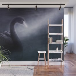 Black swan Wall Mural