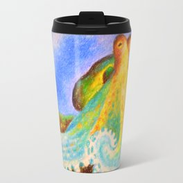 Octopus Art Travel Mug