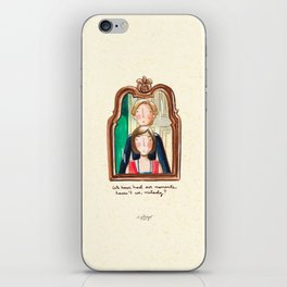 Maid and Lady iPhone Skin