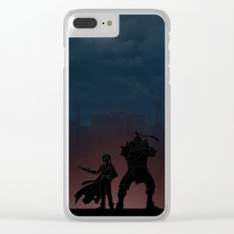 Fullmetal Alchemist | Warriors Landscapes Serries Clear iPhone Case