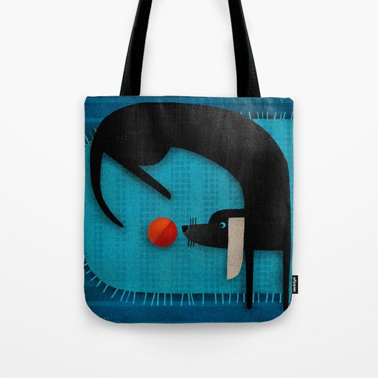 EYE ON THE BALL Tote Bag