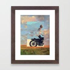 For a Ride Framed Art Print