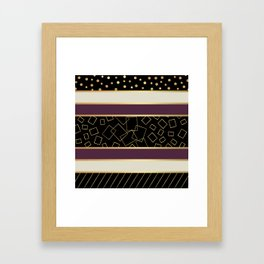 Paris Champs Elysees Framed Art Print
