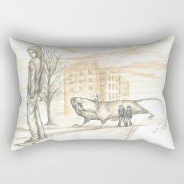 Berlin live Rectangular Pillow