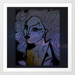 born to be brave Art Print
