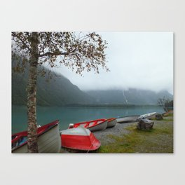 A Nice Day for an Escape Canvas Print