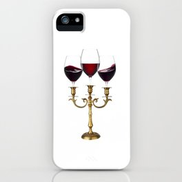 Relaxing evening iPhone Case