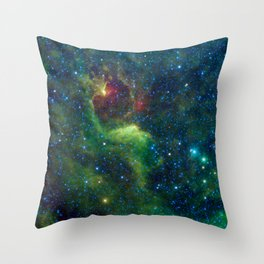 Dark Reflections in the Southern Cross Throw Pillow