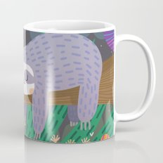 Sloth in nature Mug