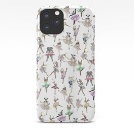 Animal Square Dance Hipster Ballerinas iPhone Case