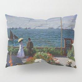 Garden at Sainte-Adresse by Claude Monet Pillow Sham