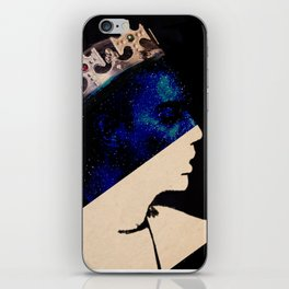 King portrait iPhone Skin