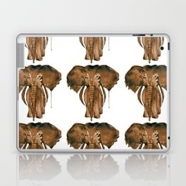 Mother Elephant Brown Laptop & iPad Skin
