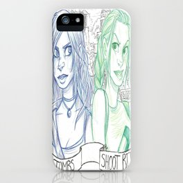 Raid Tombs - Shoot Bitches iPhone Case