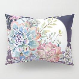 succulent fullmoon 7 Pillow Sham
