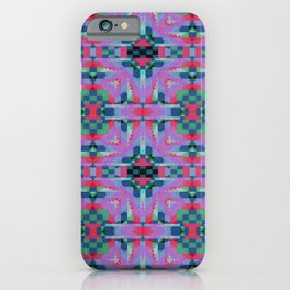 Indian Blanket Purple iPhone Case