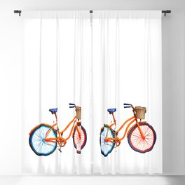 Old bicycle Blackout Curtain