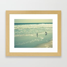 Glistening Sea Framed Art Print