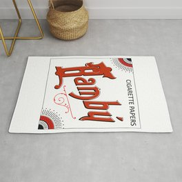 BAMBU rolling papers Rug
