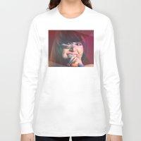karen Long Sleeve T-shirts featuring Karen O by Camila Fernandez