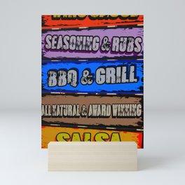 Hot Mess Mini Art Print