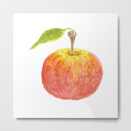 The Perfect Apple Metal Print