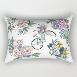 Botanical Tattoos Rectangular Pillow